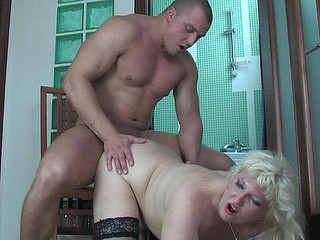 Subrina&Nicholas horny mama in action