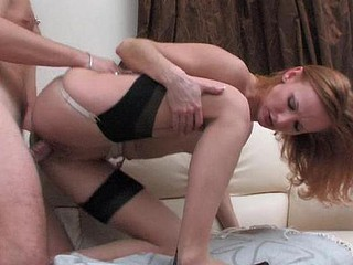 Emmie&Adam raging nylon action
