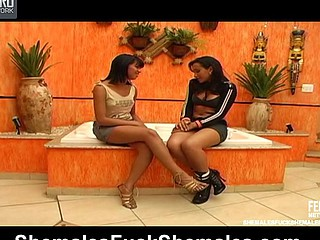 Dryele&Juliana lewd trannies on episode