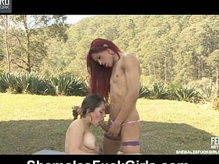 Rafaela&Fernanda shelady and pussygirl hither action