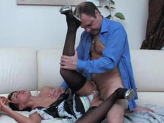 Subrina&Hubert hotty and oldman clip