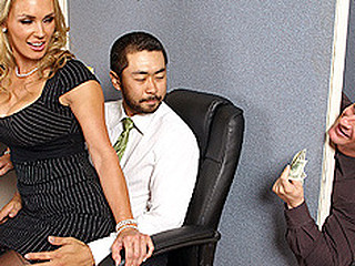 Tanya is in love with her co-worker Pete and tries to hook up with him every chance this babe gets. The merely problem is TJ, the shlong blocker of the office will at no time let him have her.