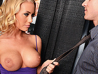 Nicole and her ally are at the career fair and are trying to give a decision what to be in their lives. They spot the Brazzers booth and with excitement Nicole finds what that playgirl actually desires to be in life, a noted Porn Star. Johnny is the host and desires to watch if Nicole has what it takes to be a real performer. This Babe doesn't frustrates, 'cuz this playgirl doesn't only has a mind boggling body but likewise bonks like a pro.