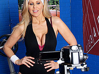 `Julia Ann is a hyper fitness freak putting jointly an edgy workout DVD. That Babe has not quite anything this chick needs: beautiful bouncing love muffins, an amazing firm body, a vigorous routine, but still lacks a certain `je ne-sais-quoi` to make it complete. One Time this chick spots Tony Ribas in the gym, this chick comes up with a new idea for the DVD that all sexually active babes can have a fun by putting her mambos into action and sweating herself into a hawt frenzy!`