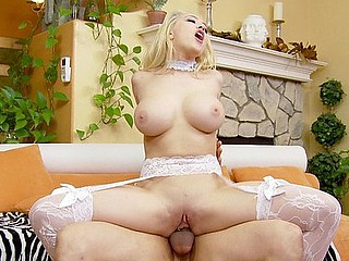 Kagney Linn Karter's love marangos are the stars of this scene.  Large, round, and enveloping, they feel worthy when they're wrapped around your dick.  Kagney Linn goes for the large schlongs and always gets the maximum joy out of fucking 'em.
