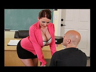 Johnny's fresh substitute teacher is one sexy large-titted cutie... That Sweetheart has Johnny daydreaming about a sexy fuck session in the class!!! Turns out poor Johnny wasn't dreaming entirely after all...