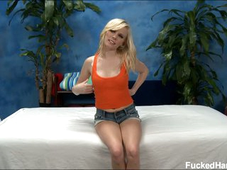 Sweet blonde Elaina looking for massage