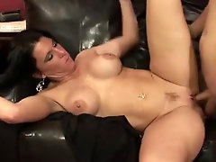 Genuinely young guy fucks a sexy milf