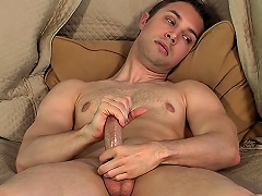 Sexy Gay Man Devon Hunter Shows How He Jerks Off On Camera...