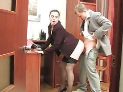 Joan&Adrian secretary hose movie