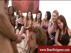 Cfnm suck cock swallow stripper party
